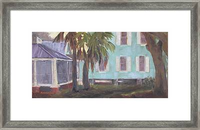 Quiet Space Framed Print by Susan Richardson