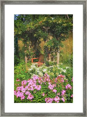 Quiet Spot Framed Print by Elizabeth Dow