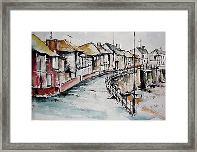 Quiet Streets Framed Print
