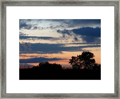 Quiet Thoughts Framed Print by Kyle West