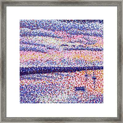 Quiet Transition Framed Print by Rebecca Bangs