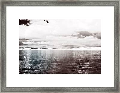 Framed Print featuring the photograph Quiet Waters by Keith Elliott