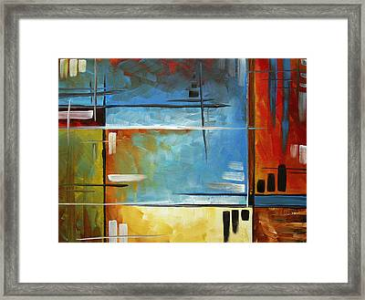 Quiet Whispers By Madart Framed Print by Megan Duncanson