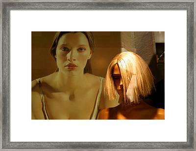 Quietly Sweet Jane Framed Print by Jez C Self