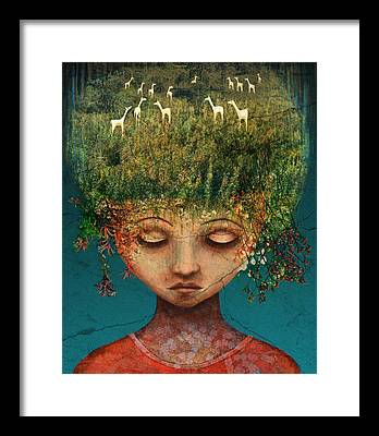 Hair Framed Prints