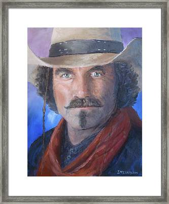 Quigley Down Under Framed Print by Jerry McElroy