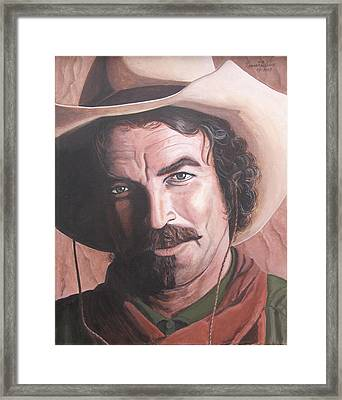 Quigley Framed Print by Kenneth Kelsoe