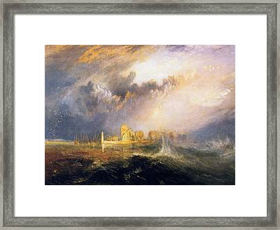 Quillebeuf, At The Mouth Of Seine Framed Print