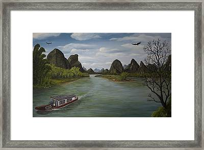 Quillin On The Money Framed Print