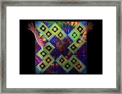 Quilt Spirit Framed Print by Scott Sawyer