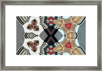 Quiltling Framed Print by Ron Bissett