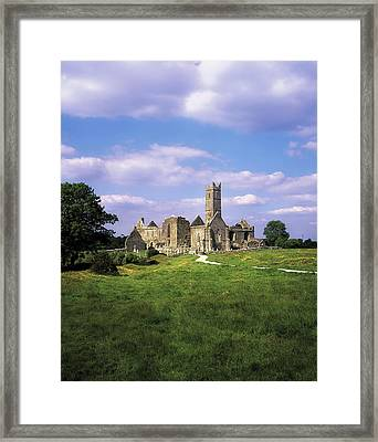 Quin Abbey, Quin, Co Clare, Ireland Framed Print by The Irish Image Collection