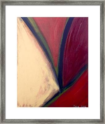Quinacridone Red 2016 Framed Print by Drea Jensen