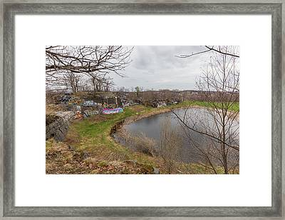 Quincy Quarries 3 Framed Print