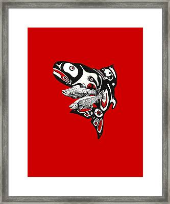 Quin'nat Framed Print by Julio Lopez