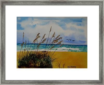 Quintessential Florida Framed Print by Maria Barry