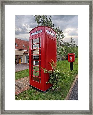 Quintessentially British Framed Print by Gill Billington
