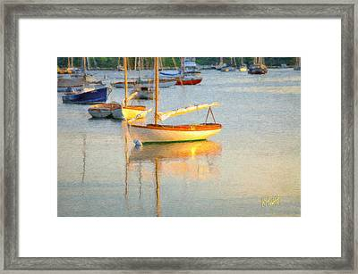 Quissett Harbor  Framed Print by Michael Petrizzo
