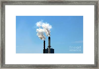 Framed Print featuring the photograph Quit by Stephen Mitchell