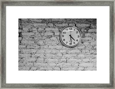 Quitting Time At The Taliban Last Stand Framed Print