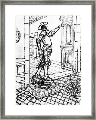 Quixote Museum Framed Print by Rich Travis