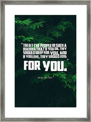 quotescover-PNG-52 Framed Print by Celestial Images