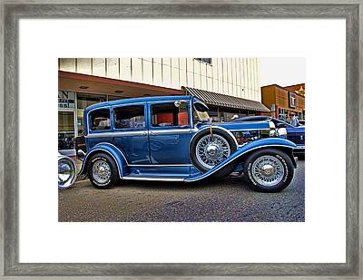 Qween Of The Road Framed Print by Anastasia Michaels