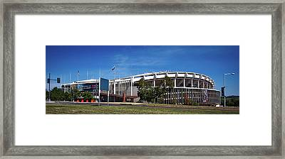 R F K Stadium Framed Print by Mountain Dreams