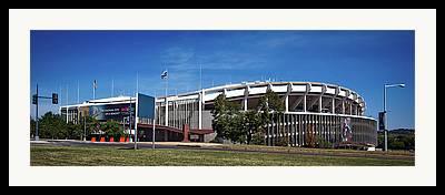 Rfk Stadium Framed Prints
