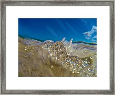 R O I L Framed Print by Steven Lapkin