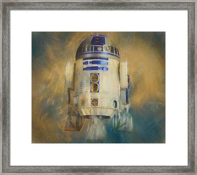 R2-d2 Framed Print by Dan Sproul