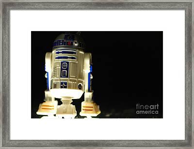 R2-d2 Framed Print by Micah May