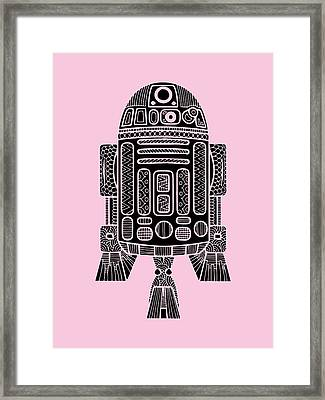 R2 D2 - Star Wars Art Framed Print