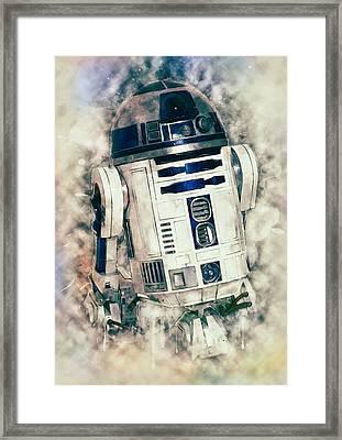 R2-d2 Framed Print by Taylan Apukovska