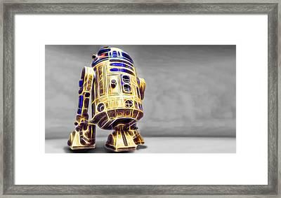 R2 Feeling Happy Framed Print