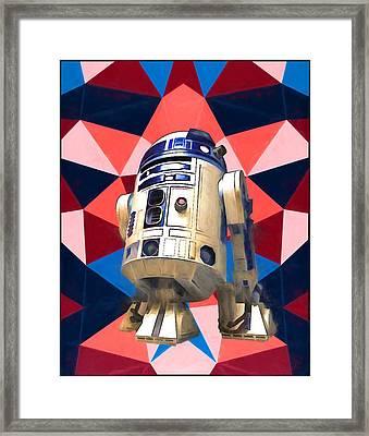 R2d2 Framed Print by Dan Sproul