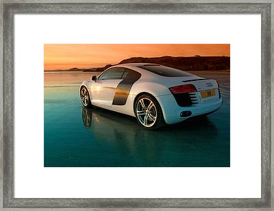 R8 On The Beach 2 Framed Print by Rory Trappe