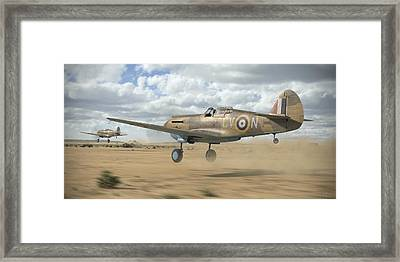 Raaf Tomahawks Framed Print by Robert Perry