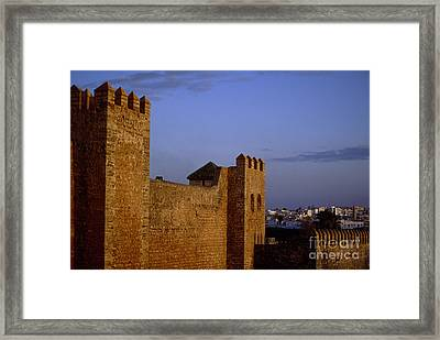 Rabat Kasbah Des Oudaias Morocco Framed Print by Antonio Martinho