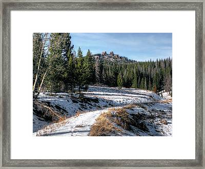 Rabbit Ears Pass Framed Print