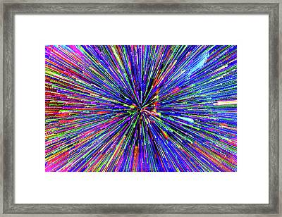 Framed Print featuring the photograph Rabbit Hole by Tony Beck