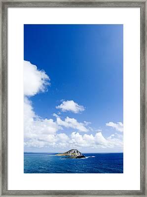 Rabbit Island, Oahu Framed Print