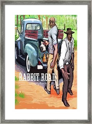 Rabbit Road Novel Print Framed Print by The Perkins Gallery
