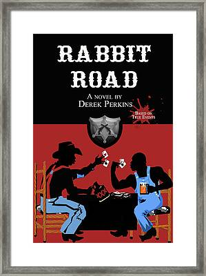 Rabbit Road Official Cover Framed Print by The Perkins Gallery