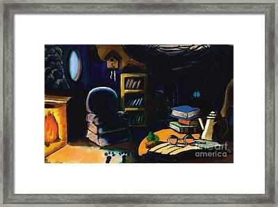Rabbits Home Framed Print by Alfredo Lozano