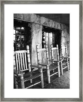 Raccoon Mountain Framed Print
