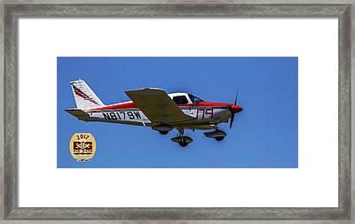 Race 179 Fly By Framed Print