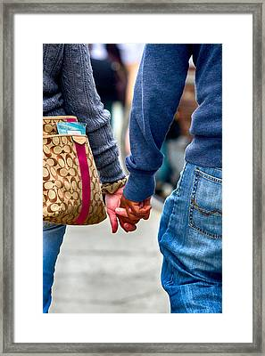 Race For Equality Framed Print