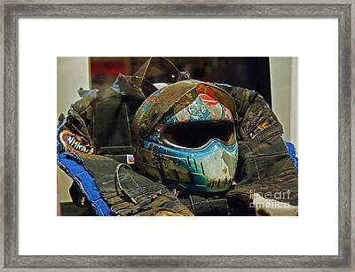 Race Gear Framed Print