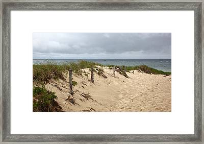 Race Point Beach Provincetown Massachusetts Framed Print